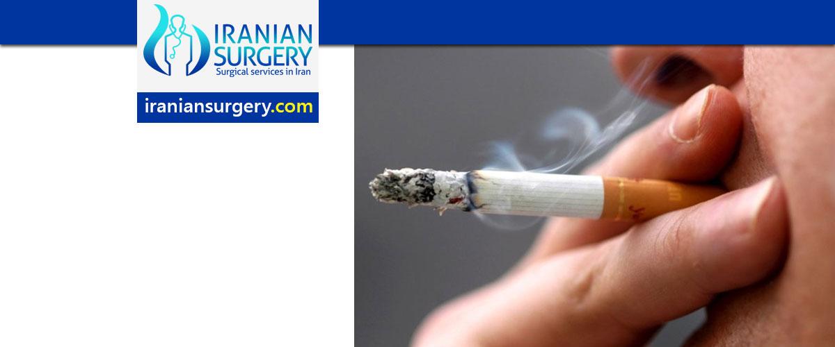 التدخین بعد عملیة الانف