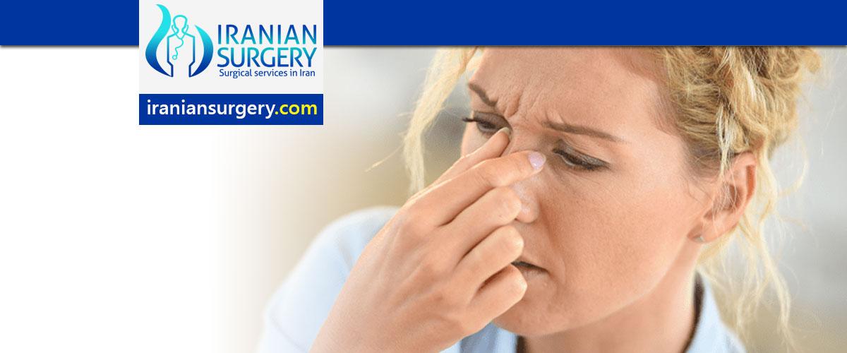 علاج التهاب الجیوب الأنفیة المزمن في ایران