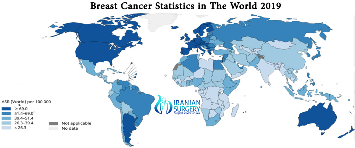 breast canser in iran
