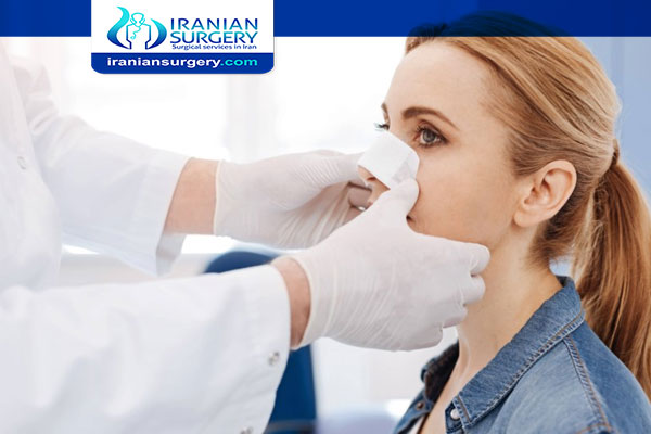 Cleaning Outside Of Nose After Ahinoplasty