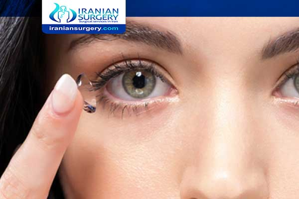 Contact lens In Iran