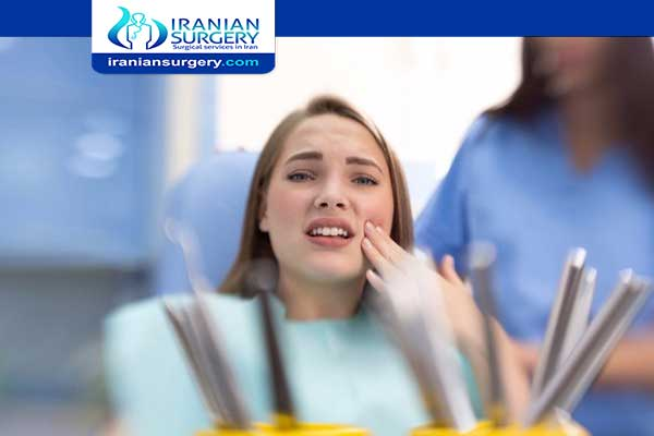 Dental filling pain