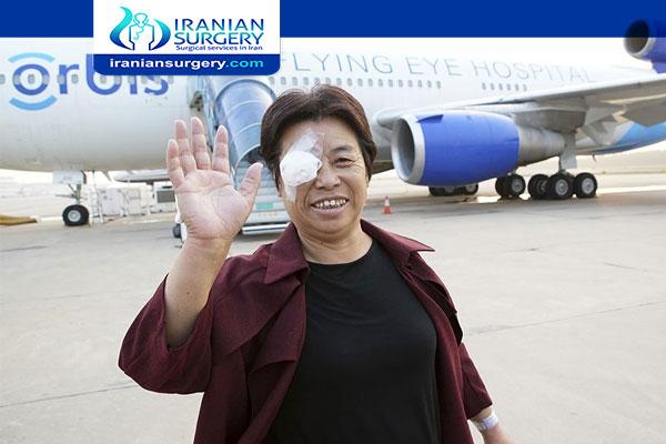 Flying after corneal transplant