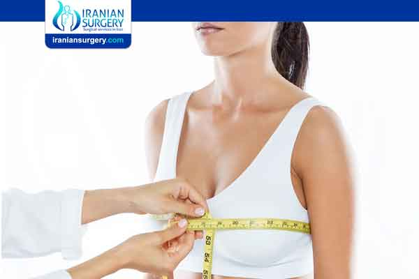 Minimum size for breast reduction