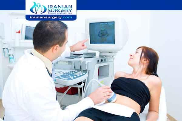 Pelvic ultrasound procedure