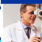 Lasik eye surgery candidate