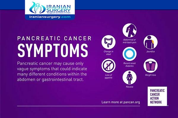 أعراض سرطان البنکریاس