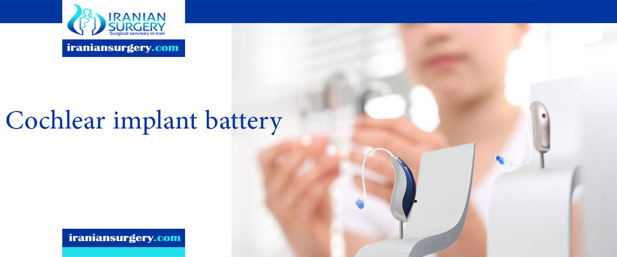 cochlear implant battery