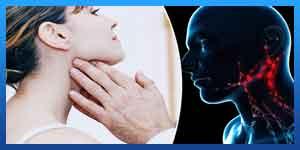 اعراض سرطان الغدد اللمفاوية تحت الفك السفلي
