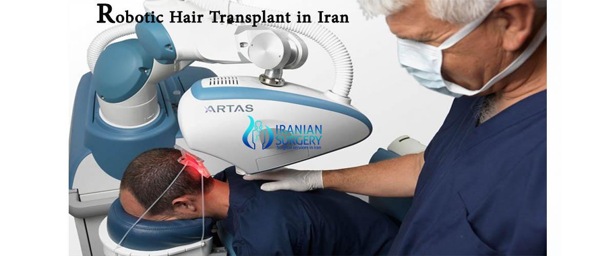 robotic hair transplant iran
